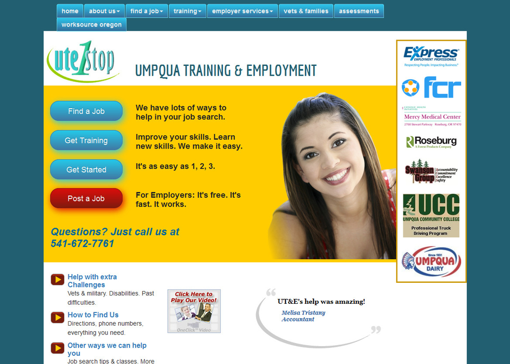 Image Umpqua Training and Employment