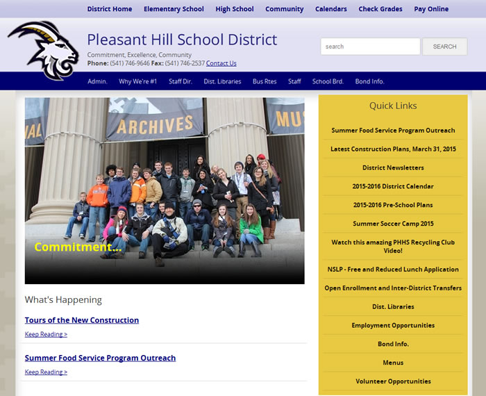 Image Pleasant Hill School District