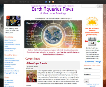 Image Earth Aquarius News