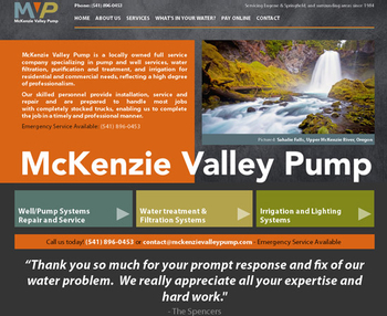 Image McKenzie Valley Pump