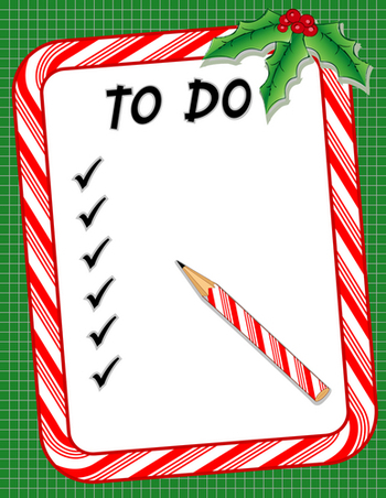Image Holiday Prep Checklist