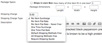 Image Per Product Shipping Overrides