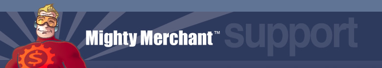MightyMerchant Support Site